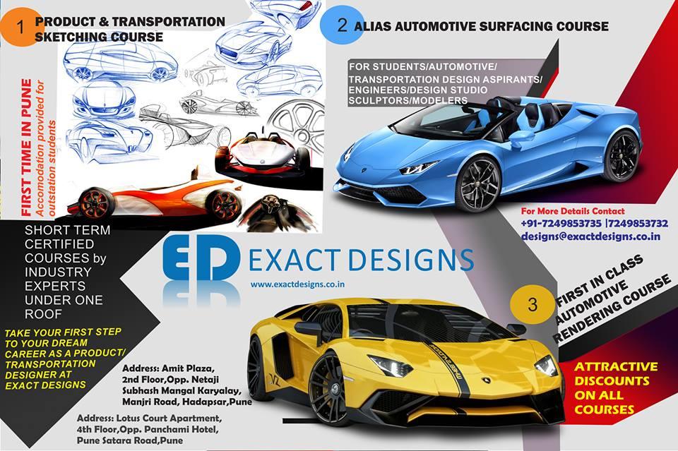 Car Designing Courses In Pune Vehicle Design Training Institute India